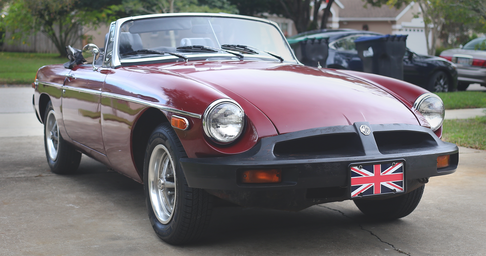 MG MGB Roadster Project
