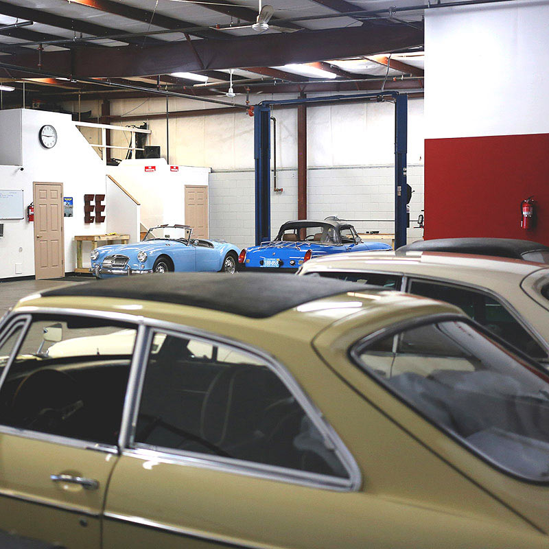 Ceres Motorsports offers repairs and maintenance for all classic British cars. If you're located in Orlando or the surrounding central Florida area, look no further. We service MG's, Triumphs, Jaguars, and all other classic British marques. Contact us today to schedule a service.